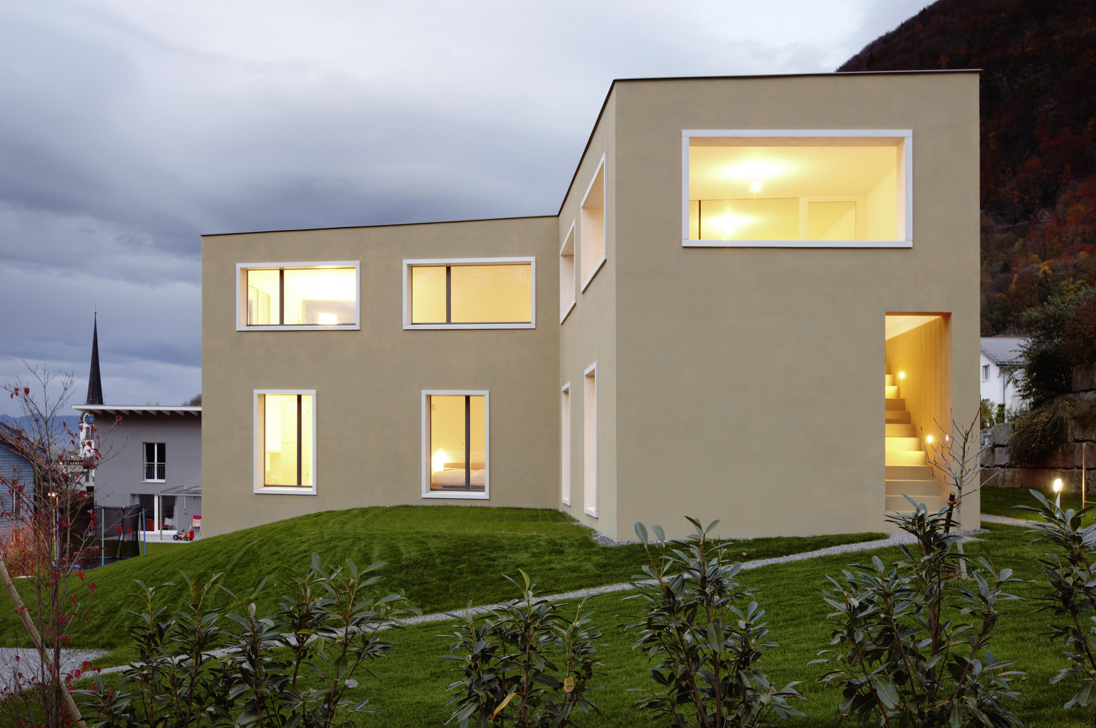Christen Architekturbüro Chur-Wohnhaus Mollis-Home