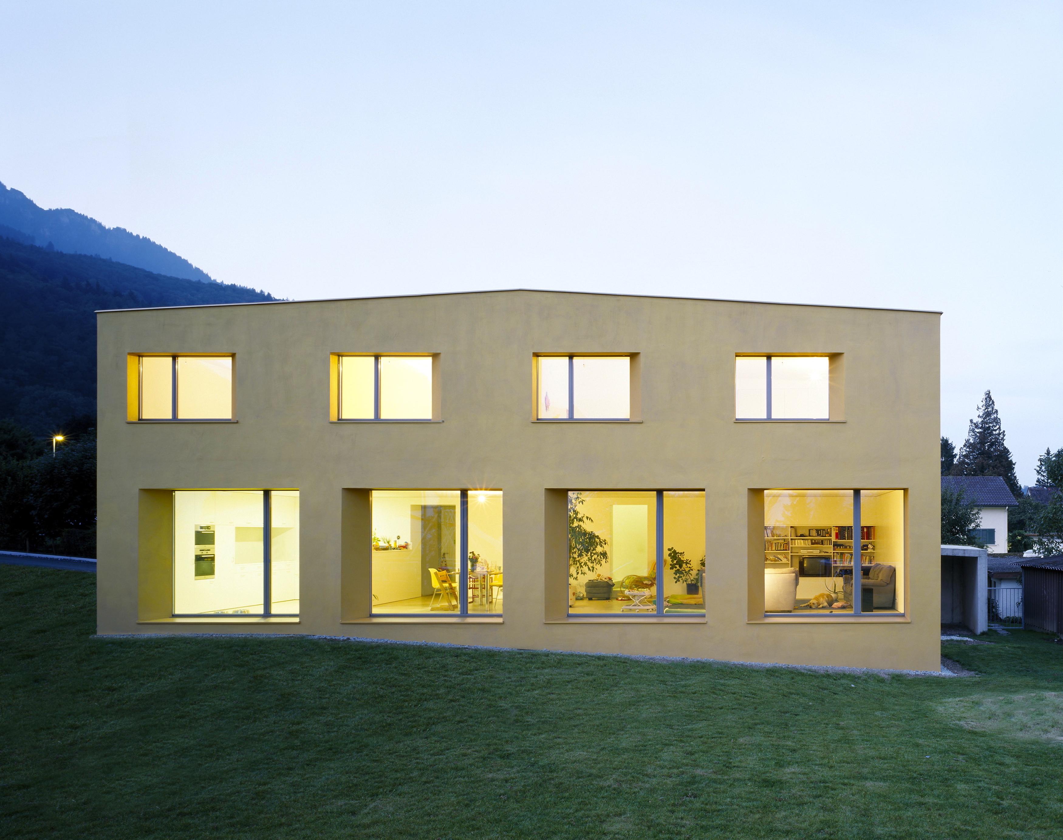 Christen Architekturbüro Chur-Wonhaus Azmoos-Home