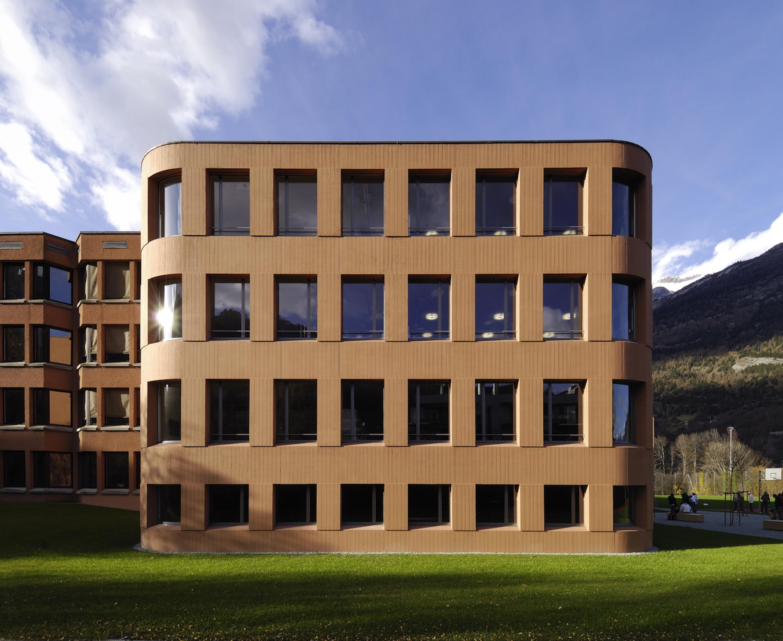 Christen Architekturbüro Chur-Schulhaus Giacometti-Home